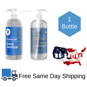 Hand Sanitizer 16.9 fl oz 75% Alcohol Anti-Bacterial Disinfectant No-Scent Gel