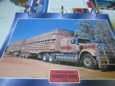 Super Trucks Hauben Zugmaschinen USA Kenworth W900 1975 Road Train
