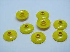 LEGO 4740 @@ Dish 2 x 2 (Radar) Yellow x 8 - 4752 4860 7633 7637 7744