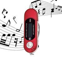 Lettore MP3 Digitale FM Radio MP3-Player USB 2.0  Flash Micro SD