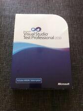 Microsoft Visual Studio test Professional 2010, inglese con IVA FATTURA