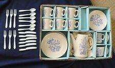 "Child Tea Set ""Classic Blue Bird Design"" Japan/Sears Roebuck & Co. Circa 1950's"