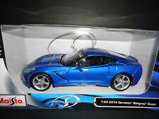 Maisto Chevrolet Corvette C7 Stingray 2014 Blue 31501 1/24