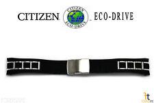 Citizen Eco-Drive AT4027-06E 25mm Black Polyurethane Band AT4025-01E AT4021-02L