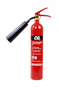 NEW 2KG CO2 CARBON DIOXIDE BUDGET FIRE EXTINGUISHER FOR HOME/OFFICE