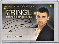 Fringe 3 & 4 Cryptozoic Autograph A13 Jarod Joseph