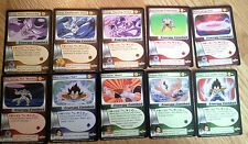 LOOK Dragonball Z CCG DBZ Frieza Saga cards lot singles set #1 - 10 vegeta goku