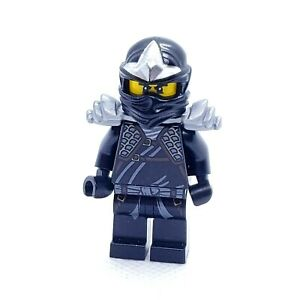 LEGO Minifigure Cole ZX with Armor njo039 Ninjago Black Ninja