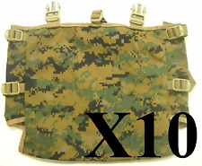 Set 10 of USMC MARPAT Gen 2 Radio Pouch Utility Pouch for ILBE Main Pack NEW!
