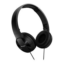 Pioneer SE-MJ503 On-Ear Foldable Headphones - Black