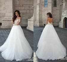 New white/ivory Wedding Dress Bridal Gown Custom Size: 6 8 10 12 14 16 +++