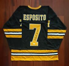 Phil Esposito Autographed Signed Jersey Boston Bruins JSA