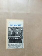 H1-1 ephemera 1967 picture hugh anderson alan manasseh st lawrence college thane