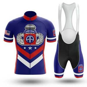 82nd Airborne Veteran Novelty Cycling Kit