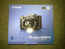 Canon PowerShot SX160 IS 16MP 16x optical zoom 3in LCD Digital Camera Red New