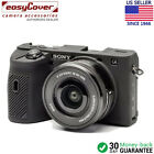 easyCover Protective Silicon Skin - Camera Cover for Sony A6600 Black Camo