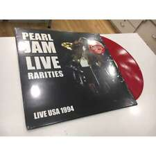 PEARL JAM LP LIVE RARITIES RED VINYL