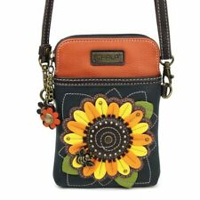 Chala - Sunflower - Cellphone Crossbody Handbag