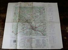 CARTA TOPOGRAFICA Feltre CARTINA MAPPA per uso militare Vintage D'epoca 1:25.000