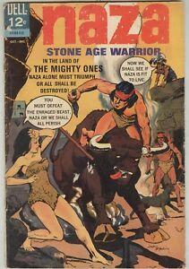 Naza: Stone Age Warrior #8 October 1965 G/VG Jerry Lewis inside front cover