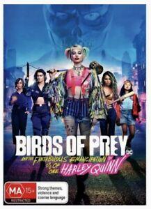 Birds Of Prey - Harley Quinn (DVD Region 4) Brand New, Sealed! - Margot Robbie