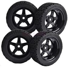 9mm Offset RC 1:10 On-Road Car Foam Rubber Tyre Tires Speed Wheel Rim 8030-8014