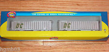 ATHEARN 28001 40' EXTERIOR POST Z-VAN TRAILERS (2) DC TRUCKING CO.