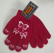 Gants et moufles rouge pour fille de 2 à 16 ans