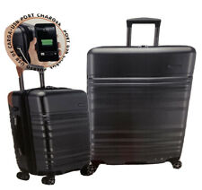 "Traveler's Choice Pomona 2Pieces Luggage Set 29"" & 21.5""Hard-side Gray Brand New"