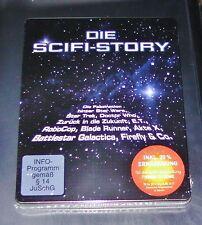 DIE SICFIIC-STORY LIMITED STELLBOOK EDITION BLU RAY SCHNELLER VERSAND NEU & OVP