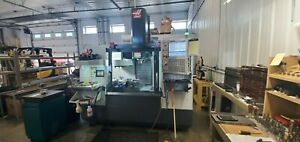 Used 2017 Haas VF-2 CNC Vertical Machining Center Mill Rigid Tap USB 1MB Chip CT
