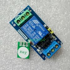 5V Relay Module One Touch Key Switch Touch Senor LATCH Type For 110V 220V NO NC
