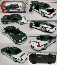 New York Jets  2002 Ford Thunderbird Metal Die-cast Car Scale 1:24