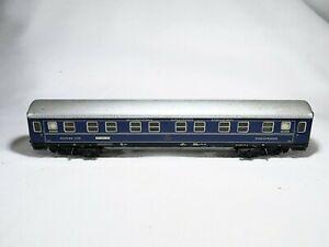 Märklin 4029 Wagon Sleeping International Schlafwagen Gesellschaft Roma Basel