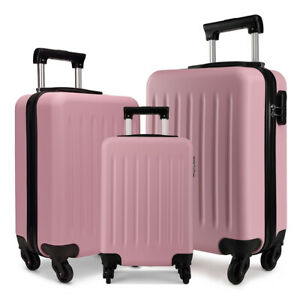 Ryanair Case Hard Cabin 4 Wheels Spinner Trolley Luggage Suitcase