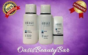 Obagi REGIMEN Kit of 3 for Normal to Dry Skin, Gentle Cleanser, Toner, Exfoderm