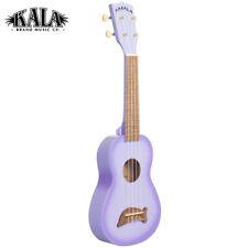Kala MK-SD/PLBURST Dolphin Bridge Satin Soprano Ukulele Purpleburst + Tote Bag