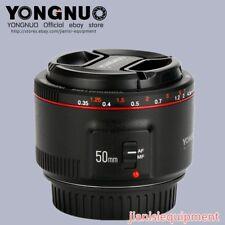 YONGNUO YN50MM F1.8 II AF & MF Standard Lens For Canon EF 7DII 5DIV 6D T5 T6i 1D