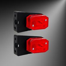 Begrenzungsleuchten Reflektor Anhänger Wohnwagen Umrissleuchten rot AWH
