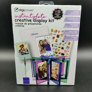 Digipower Instant Photo Creative Display Kit 14 & Photo Album for 64 Pics *New*