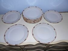 """12 Vintage Early Nippon Hand Painted 10"""" Dinner Plates"""