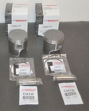 WISECO FORGED PISTONS  876ML07200 876MR07200 72MM 2MM OVERBORE SUZUKI TITAN