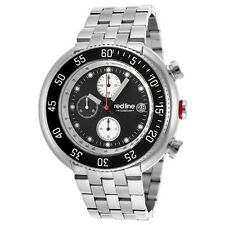 red line Men's RL-50038-11 Driver Analog Display Japanese Quartz Silver Watch