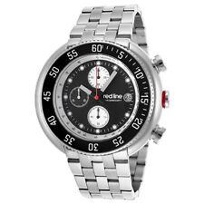 red line Men's RL-50038-11 Driver Analog Display Japanese Quartz Silver Watch