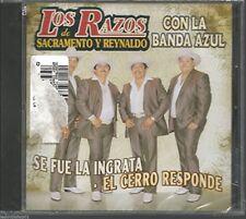 Los Razos de Sacramento y Reynaldo Con La Banda Azul Se Fue La Ingrata CD New