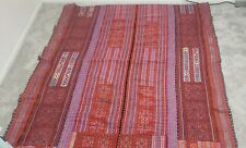 New ListingHmong Embroidered Fabric, Ethnic Fabric, Tapestry, Throw, Wall Decor