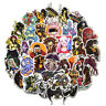 50Pc Scary Horror Themed Mixed Skateboard Stickers Bomb Skull Blood Gore Sticker
