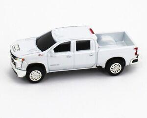 1:64 ERTL *WHITE* 2020 Chevrolet SILVERADO 2500 HD Pickup Truck NEW w/TAG