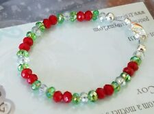 Christmas bracelet youth/small adult size