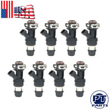 8 60lb 630cc Fuel Injectors for GMC Cadillac & Chevrolet 4.8L 5.3L 6.0L 01-07